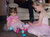 Ballerina Tea Party, Age 4