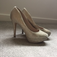 Cinderella Shoes - Champagne